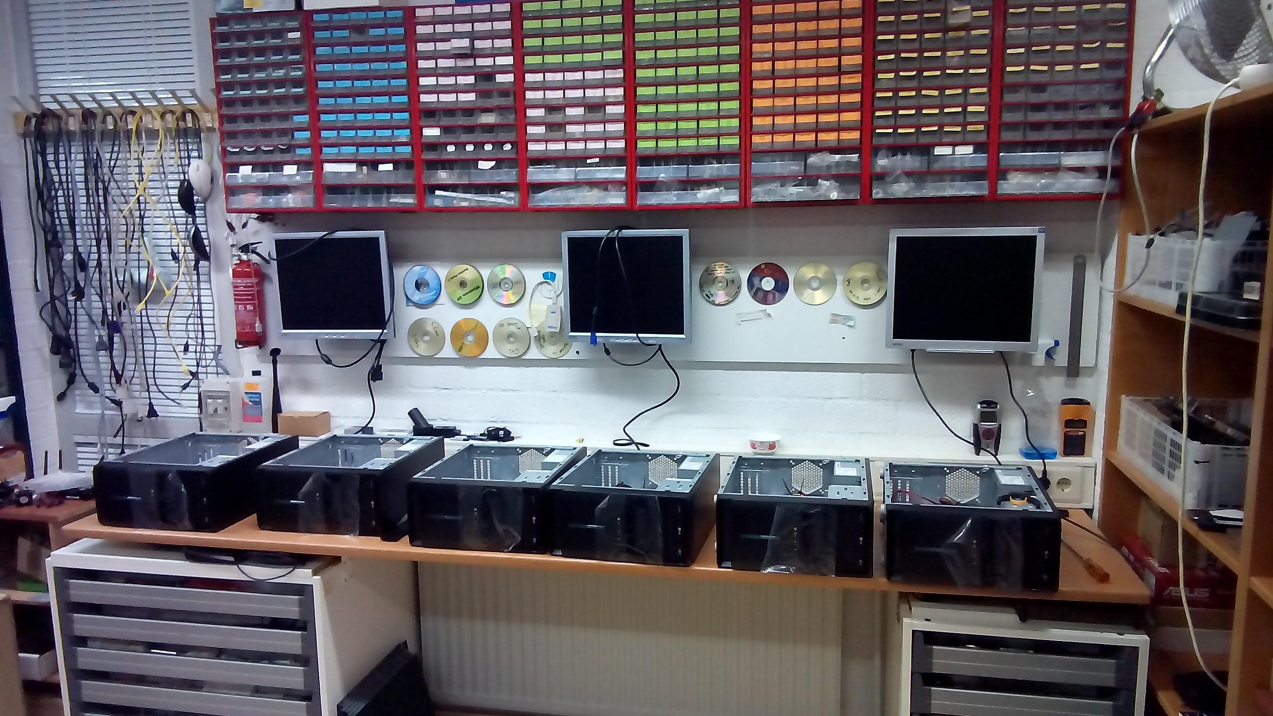 Computers op maat gebouwd, ook voor uw kantoor !