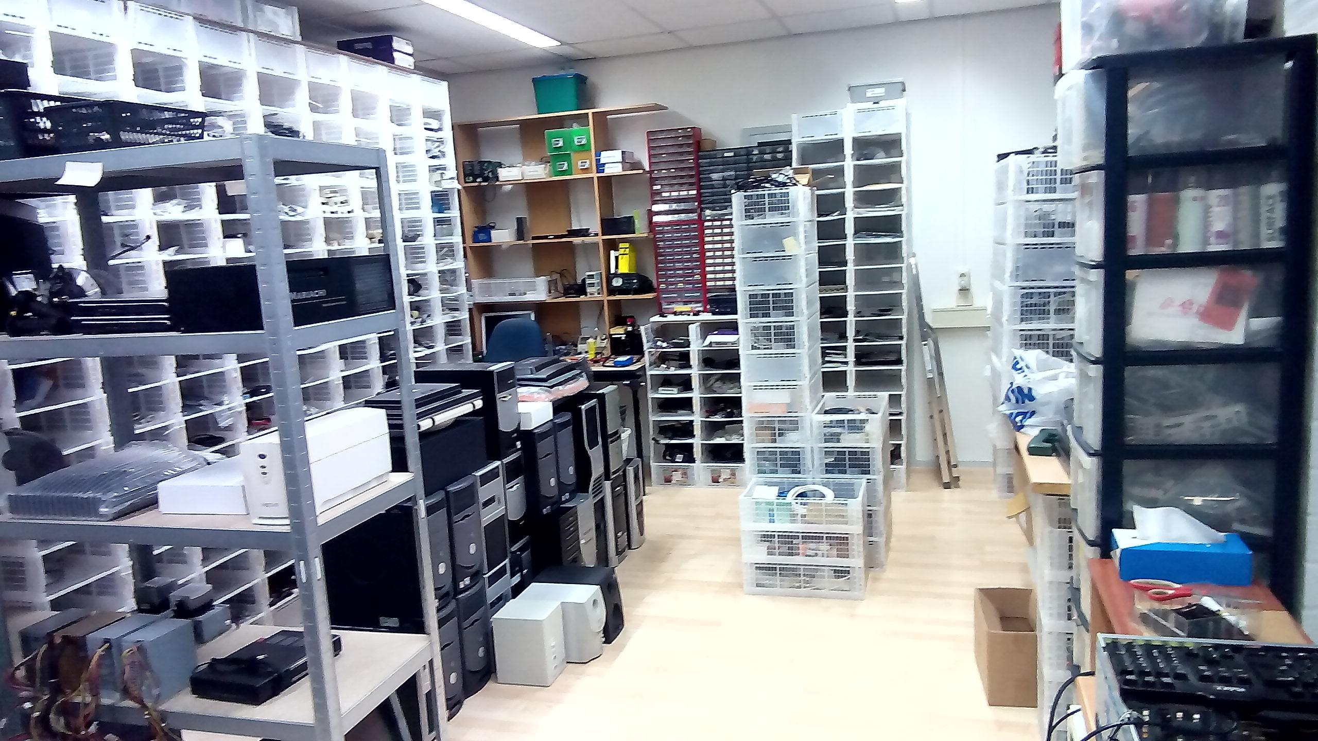 Dit is onze professionele werkplaats